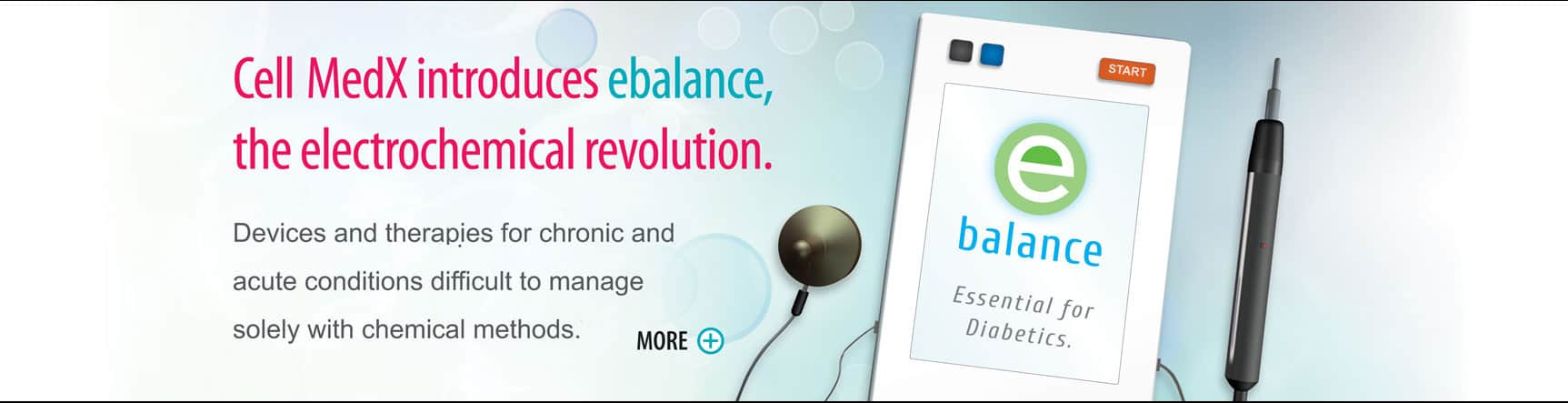 CellMedX introduces e balance the electrochemical revolution